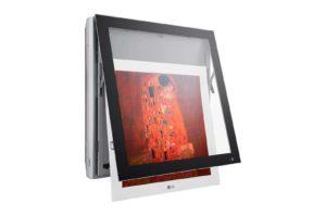 У кондиционера LG artcool Gallery легко меняется картинка