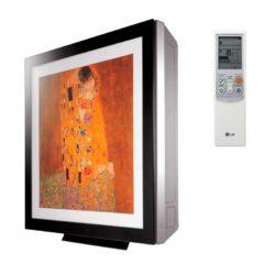 Сплит-система LG artcool Gallery и пульт дистанционного управления